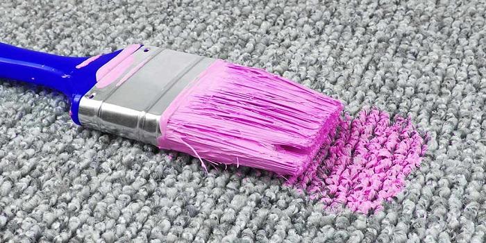 Clean Oil Paint Carpet