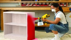 HVLP Paint Spray Gun for Cabinets