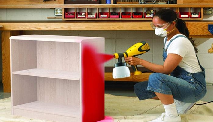 HVLP Paint Spray Gun for Cabinets
