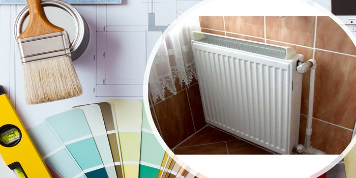paint radiator