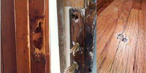 large hole wood filler