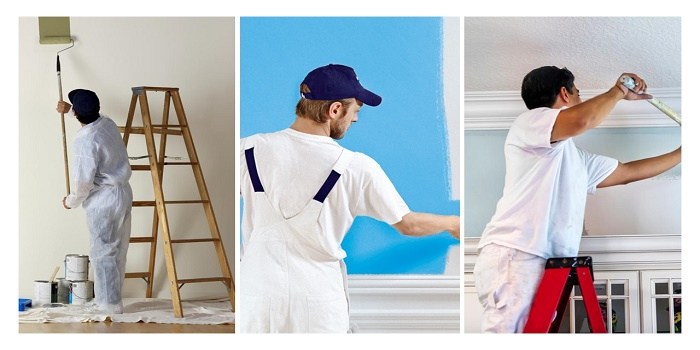 why painter wear white