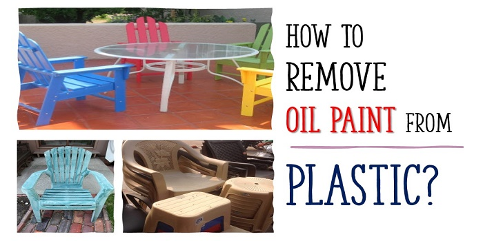 How to Remove Oil Paint from Plastic