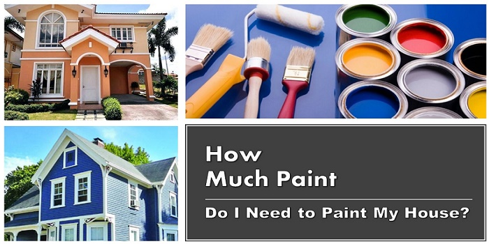 how much paint do i need for painting my house