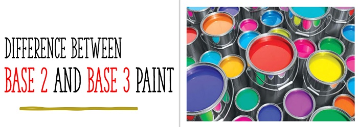 difference between base 2 and base 3 paint