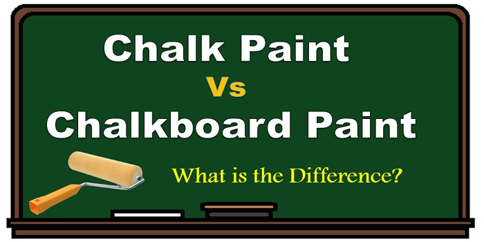 difference between chalk paint and chalkboard paint