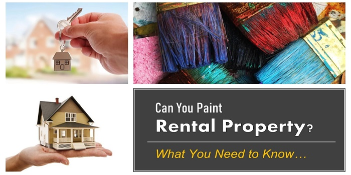 can you paint a rental property
