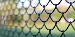 paint chain link fence