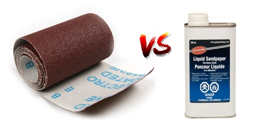 Liquid Sandpaper Vs Regular Sandpaper