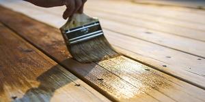 deck stain vs oil