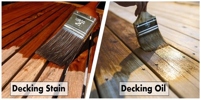 decking stain or oil