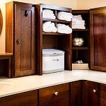 glaze bathroom cabinets