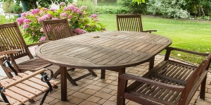 teak oil garden furniture