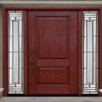 what paint for fiberglass doors