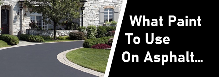 what paint to use on asphalt