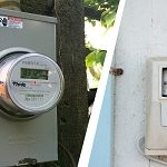 can you paint electric meter box