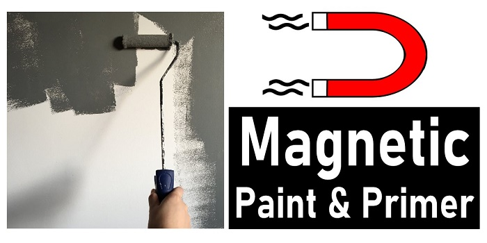 Magnetic primer and paint