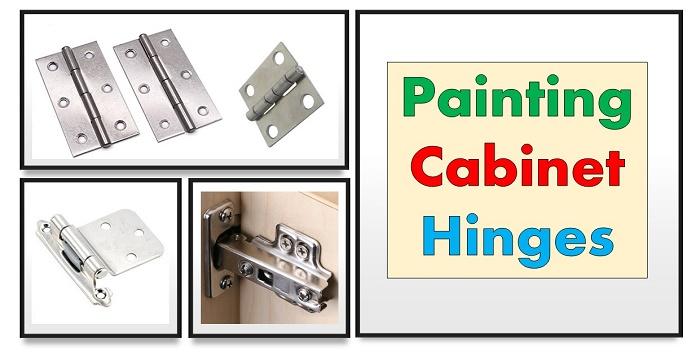 how to paint kitchen cabinet hinges