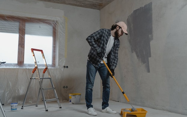 what is eggshell paint best used for