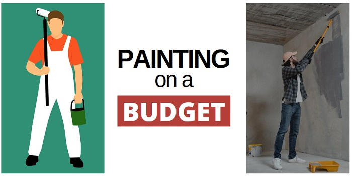 painting on a budget