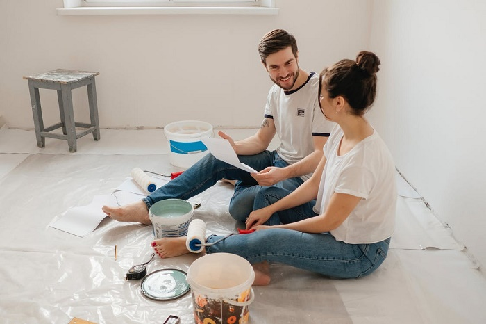 how to save money on paint supplies
