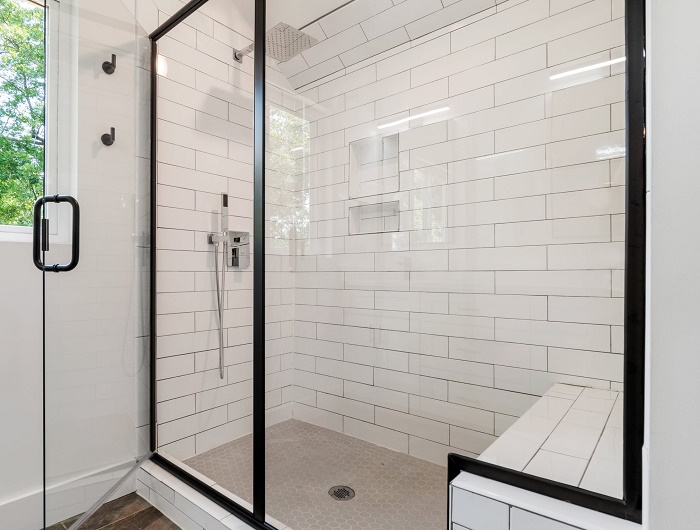 how long to wait for shower in freshly painted bathroom