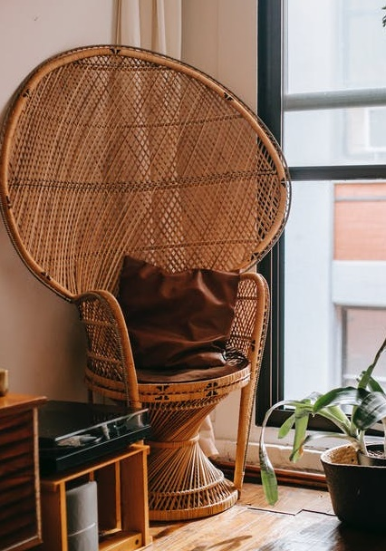 how to dye wicker furniture