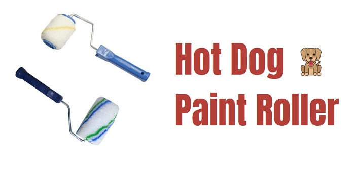 hot dog paint roller